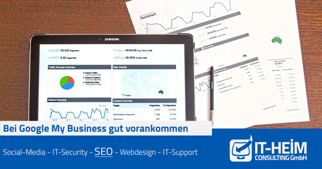 Bei Google My Business gut vorankommen