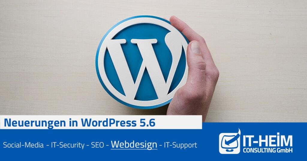 Neuerungen in WordPress 5.6