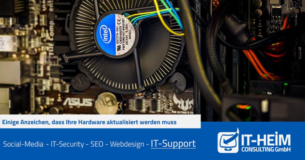 Einige Anzeichen, dass Ihre Hardware aktualisiert werden muss